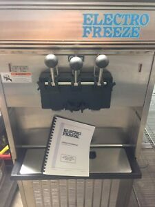 Electro Freeze 56tf 237 Soft Serve Frozen Ice Cream yogurt Machine