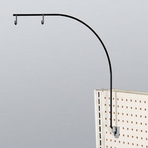 Aisle Markers Sign Holders Curved use In Slatwall Or Pegboard