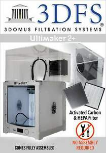 3dfs Ultimaker 2 Safety Enclosure Kit Incl Activated Carbon And Hepa Filtrat