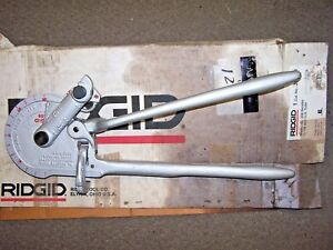 New Ridgid 358 Geared Ratchet Tube Bender 3 Radius Bend Ridgid Model 358 35170