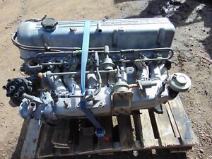 1976 Datsun 280z Engine N47 Head Intake Exhaust Etc Complete Takeout Builder T