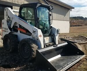 2014 Bobcat S650 Enclosed Cab Heat Air 712 Hours W New Bucket