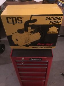 Cps Vp12d Vacuum Pump Dual Voltage Free Shipping New In The Unopened Box