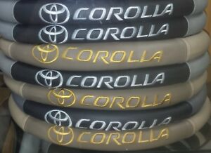 Toyota Corolla 1993 2019 Custom Fit Steering Wheels Cover