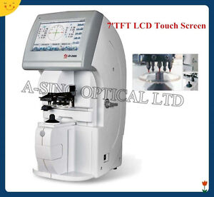 Free Shipping Us Solid 7 Lcd Touch Screen Auto Lensmeter Lensometer Focimeter