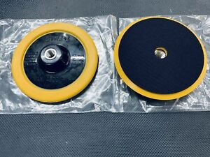 2 qty Dewalt 7 Backing Polisher Hook Loop Pad Fit Makita milwaukee N092491