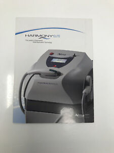Alma Harmony Elite Laser Platform Brochure Sales Specifications Marketing Folder