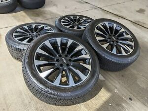 18 Ford F 150 Expedition Oem Rims Wheels Tires 3997 Oe Black 2018 2019 2020