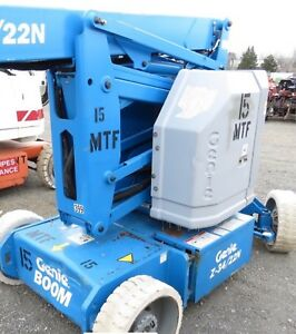 Genie Z34 22n Manlift 34 Articulating Boom Lift Electric 40 Working Height