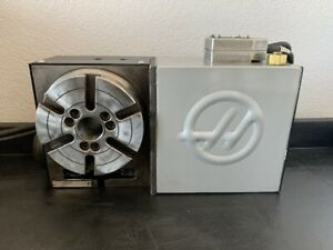 Haas Hrt 160 4th Axis Brushless Rotary Table Indexer sigma 1 Warranty