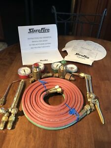 Nos Surefire Oxygen Acetylene Cutting And Welding Torch Kit Unused