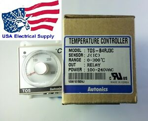 Tos b4rj3c Temperature Controller Relay 0 300c With Socket Base