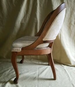 Antique Vtg French Country Provincial Bentwood Chair Hollywood Regency Claw Foot