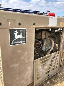 6068 John Deere Diesel Engine Self Contained Unit