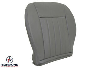 2005 2006 2007 Jeep Liberty Limited Driver Side Bottom Leather Seat Cover Gray