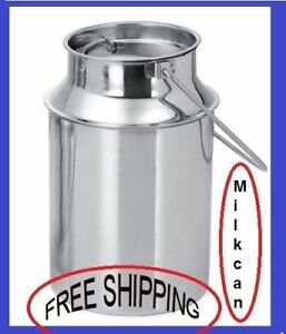 Milk Can Stainless Steel 5 Ltr milk Can Kitchen Milk Can Best Quality Material