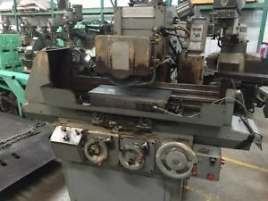 Brown Sharpe Micromaster 1024 Surface Grinder 10 x24 Fine Pole Magnetic Chuck