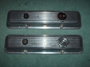 1970 Camaro Z 28 Corvette Lt 1 Gm Factory Aluminum Valve Covers 3965543 3965544