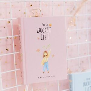 2019 Season 2 Korean Kawaii 100 Bucket Wish List Plan To Do List Cute Flower