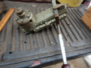 Older Precision Lathe Turret Possible Derbyshire Machinist Tool