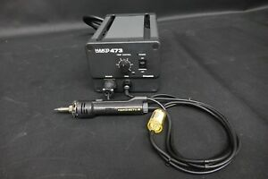 Hakko 473 Air Powered Desoldering Station With 807 Iron Clean And Tested