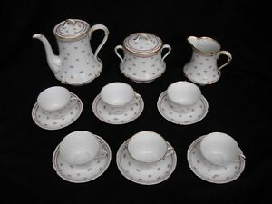 Limoges French Porcelain Tea Or Coffee Early 20th Century
