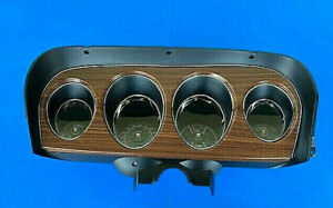 1969 Ford Mustang Complete Deluxe Gauge Cluster Reconditioned 69 Dash 2036
