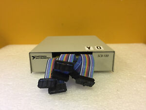 National Instruments Scb 100 18788b 01 Shielded I o Connector Block Tested