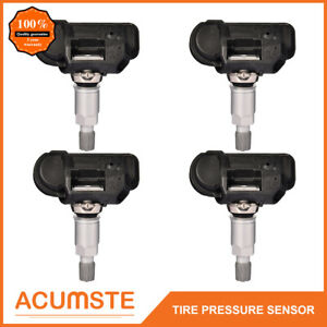 4pcs Tpms Tire Pressure Sensors For Mercedes Smart A0009050030q03 A0009050030