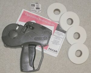 Avery Dennison Monarch 1131 01 One Line Numeric Price Label Gun 3 Available