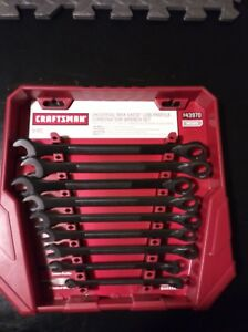Craftsman Long Pattern Spline Combo Wrenches New