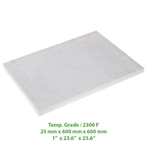 Thermal Insulation Board 2300 F 23 6 X 23 6 X 1