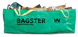 Wm Bagco Llc Dumpster In Bag 8 X 4 X 2 5 ft 3cuyd