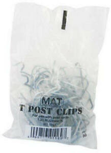 Midwest Air Tech import 25 pack T post Style Fence Clip 901169b