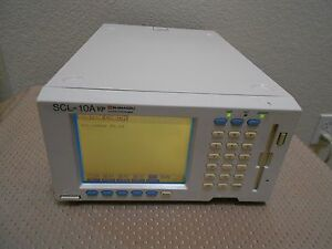 Shimadzu Scl 10avp Hplc System Controller V5 42 Works Nice Agilent Waters Hp