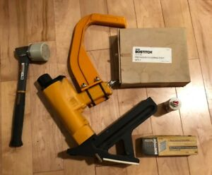 Bostitch Miiifn Hardwood Flooring Cleat Nailer W Mallet And Custom Foot