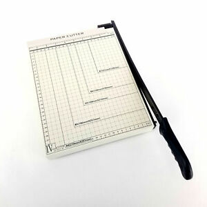 A4 Guillotine Paper Cutter 12 X 10 Paper Trimmer With Multi Sheet Capacity