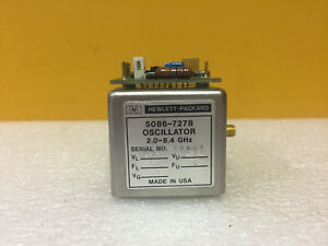Hp Agilent 5086 7131 2 To 6 2 Ghz 10 To 20 Vdc Yig Oscillator For 86718b