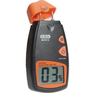 Wood Moisture Meter Dr meter Digital Portable Wood Water Moisture Tester