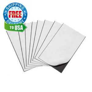 Marietta Magnetics 25 Magnetic Sheets Of 8 5 X 11 Adhesive 30 Mil