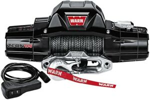 Warn Industries Zeon 10 S 10000lb Winch W Synthetic Rope