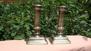 Estate Gorham Sterling Silver Candlesticks Circa 1910