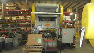 Bliss Straight Side Punch Press 200 Ton