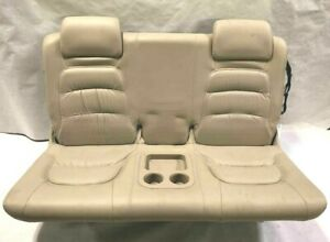 2005 Buick Rendezvous 3rd Row Back Seat Leather Folding Lite Neutral Tan Opt Aj2
