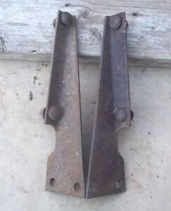 1926 1927 Model T Ford Firewall To Frame Brackets Original Pair