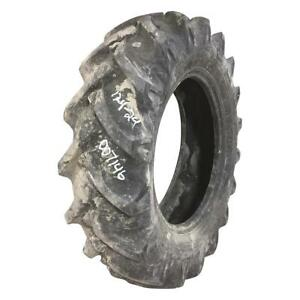 12 4x24 Farm King atf Otr Tire R 1 Tractor Rear 1900 6 ply Used 34 32 Chips