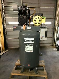 7 5 Hp Atlas Copco Ls Industrial Duty Air Compressor