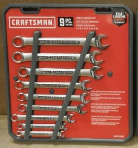 Lot Of 2 Craftsman Cmmt82328 Metric Wrench Sets 9 Piece 7mm 16mm Free Ship Bw8