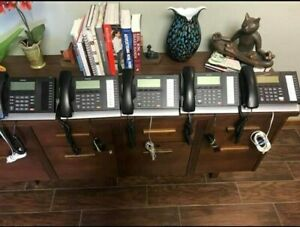 Toshiba Digital Business Multi line Telephone 4 models set Of 9