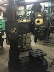 Toh a Radial Arm Drill Press Trd 800c 3 Arm 8 Column Made In Japan